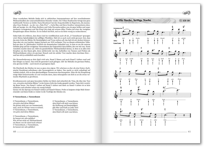 Dieter Kropp\'s Weihnachts-Liederbuch für die Mundharmonika Blues ...