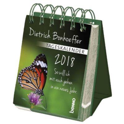 Dietrich Bonhoeffer - Tageskalender 2018, Dietrich Bonhoeffer