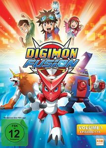 Digimon Fusion - Volume 1, N, A
