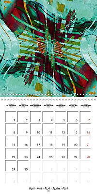 digital abstract art (Wall Calendar 2019 300 × 300 mm Square) - Produktdetailbild 4