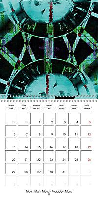 digital abstract art (Wall Calendar 2019 300 × 300 mm Square) - Produktdetailbild 5