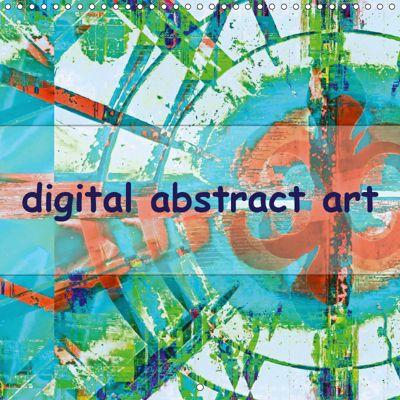digital abstract art (Wall Calendar 2019 300 × 300 mm Square), Gabi Hampe