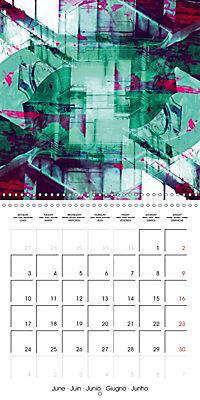digital abstract art (Wall Calendar 2019 300 × 300 mm Square) - Produktdetailbild 6