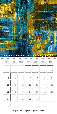 digital abstract art (Wall Calendar 2019 300 × 300 mm Square) - Produktdetailbild 8