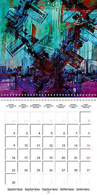 digital abstract art (Wall Calendar 2019 300 × 300 mm Square) - Produktdetailbild 9