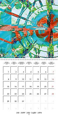 digital abstract art (Wall Calendar 2019 300 × 300 mm Square) - Produktdetailbild 7