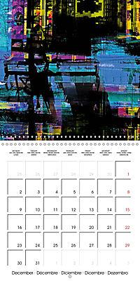 digital abstract art (Wall Calendar 2019 300 × 300 mm Square) - Produktdetailbild 12
