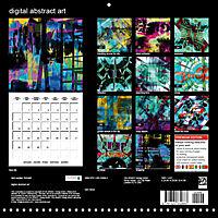 digital abstract art (Wall Calendar 2019 300 × 300 mm Square) - Produktdetailbild 13