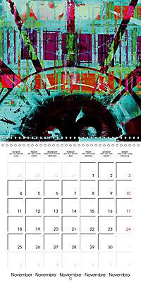 digital abstract art (Wall Calendar 2019 300 × 300 mm Square) - Produktdetailbild 11