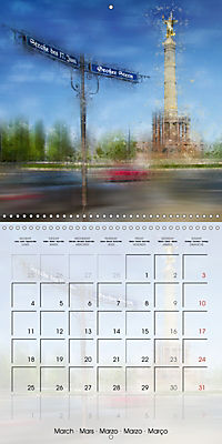Digital Art BERLIN (Wall Calendar 2019 300 × 300 mm Square) - Produktdetailbild 3