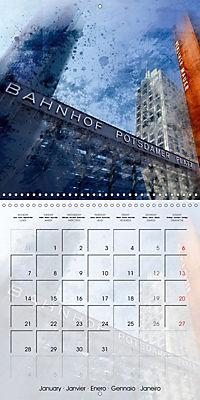 Digital Art BERLIN (Wall Calendar 2019 300 × 300 mm Square) - Produktdetailbild 1