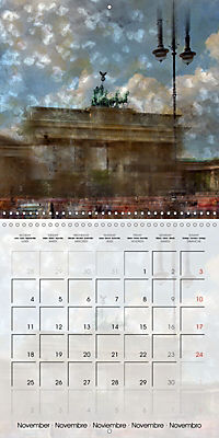 Digital Art BERLIN (Wall Calendar 2019 300 × 300 mm Square) - Produktdetailbild 11