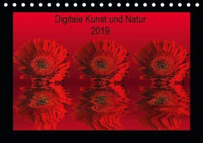 Digitale Kunst und Natur (Tischkalender 2019 DIN A5 quer), Martina Fornal