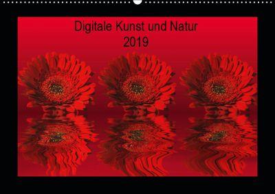 Digitale Kunst und Natur (Wandkalender 2019 DIN A2 quer), Martina Fornal