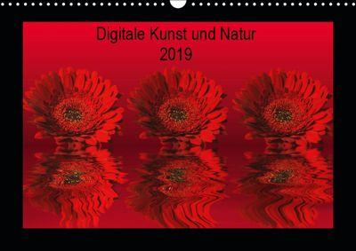 Digitale Kunst und Natur (Wandkalender 2019 DIN A3 quer), Martina Fornal