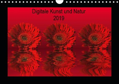 Digitale Kunst und Natur (Wandkalender 2019 DIN A4 quer), Martina Fornal