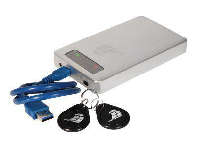 DIGITTRADE RS256 2TB RFID Security externe Festplatte - 256-Bit AES Verschluesselung 6,35cm 2,5Zoll 5400rpm Anti-Shock USB 3.0