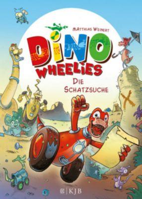 Dino Wheelies Band 1: Die Schatzsuche, Matthias Weinert