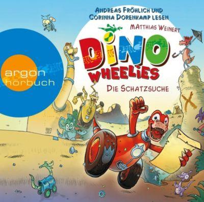 Dino Wheelies Band 1: Die Schatzsuche (Audio-CD), Matthias Weinert