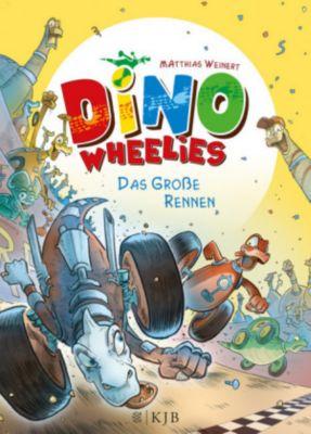 Dino Wheelies Band 2: Das große Rennen, Matthias Weinert
