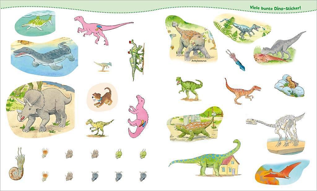 Dinosaurier Mitmach Heft Buch Bei Weltbildde Online Bestellen