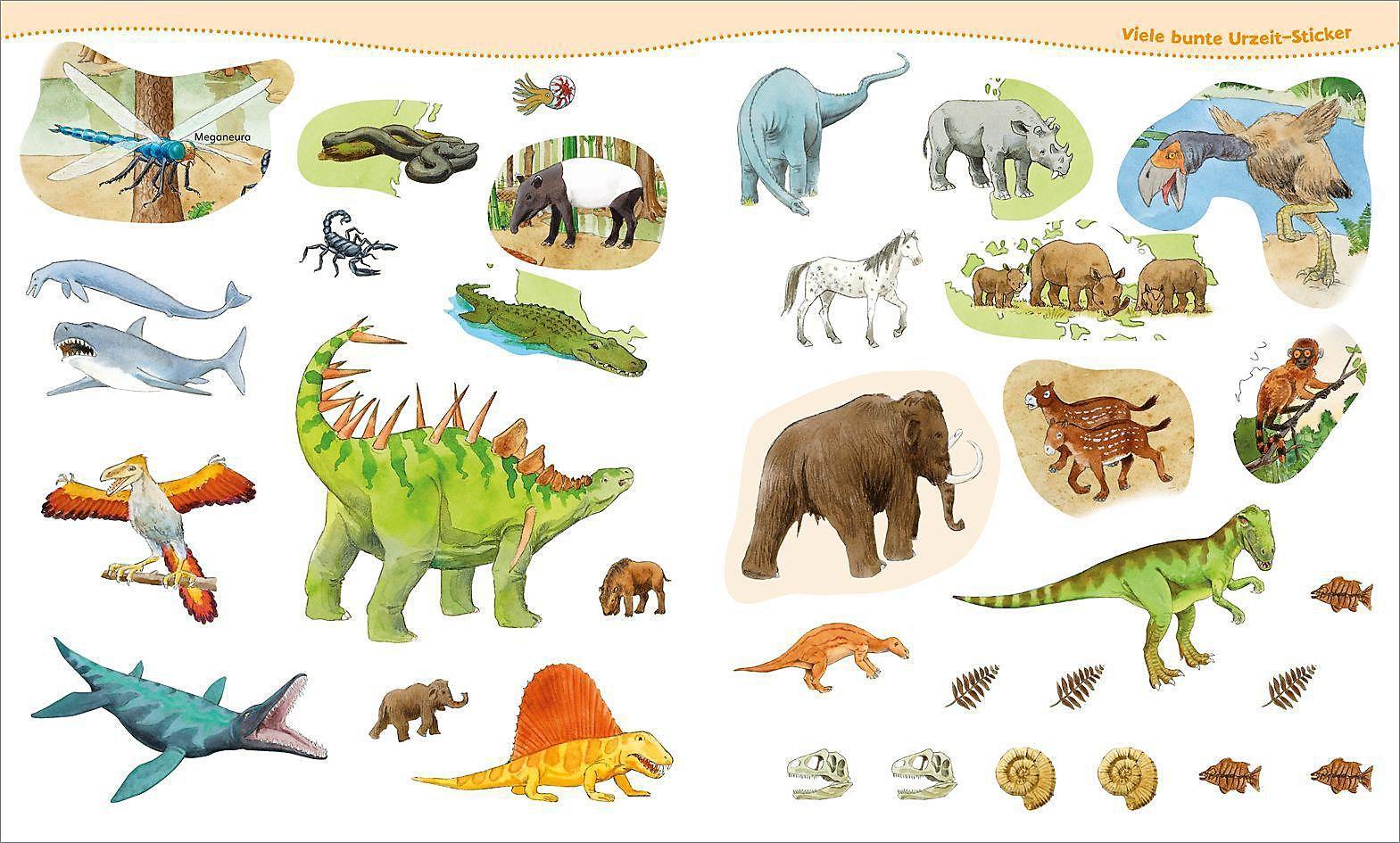 Dinosaurier Und Tiere Der Urzeit Mitmach Heft Buch Weltbild De