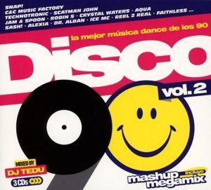Disco 90,Vol.2, Diverse Interpreten