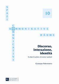 Discorso, interazione, identita, Giuseppe Paternostro