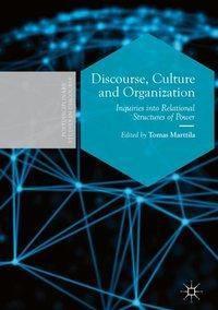 Discourse, Culture and Organization