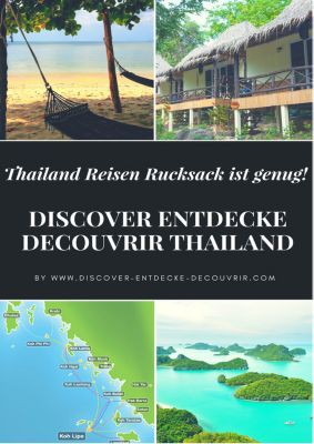 DISCOVER ENTDECKE DECOUVRIR THAILAND, Heinz Duthel