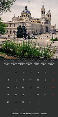 Discover Madrid (Wall Calendar 2019 300 × 300 mm Square) - Produktdetailbild 1