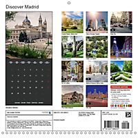 Discover Madrid (Wall Calendar 2019 300 × 300 mm Square) - Produktdetailbild 13