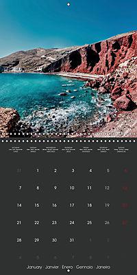 Discover Santorini (Wall Calendar 2019 300 × 300 mm Square) - Produktdetailbild 1