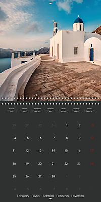 Discover Santorini (Wall Calendar 2019 300 × 300 mm Square) - Produktdetailbild 2