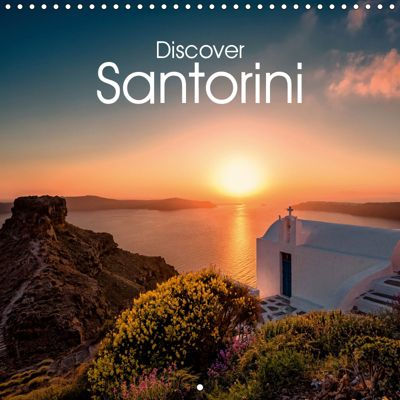 Discover Santorini (Wall Calendar 2019 300 × 300 mm Square), Hessbeck Photography