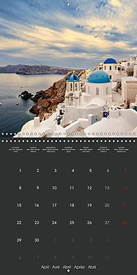 Discover Santorini (Wall Calendar 2019 300 × 300 mm Square) - Produktdetailbild 4