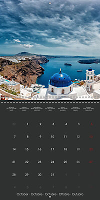 Discover Santorini (Wall Calendar 2019 300 × 300 mm Square) - Produktdetailbild 10
