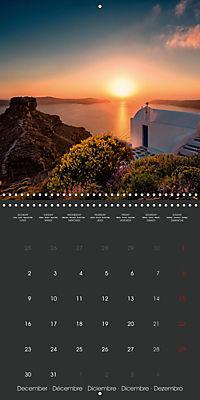 Discover Santorini (Wall Calendar 2019 300 × 300 mm Square) - Produktdetailbild 12