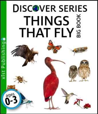 Discover Series: Things that Fly Big Book, Xist Publishing