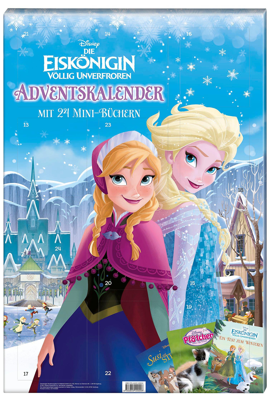 Disney Adventskalender mit 24 Mini-Büchern - Weltbild-Ausgabe