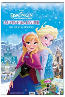 Disney Adventskalender mit 24 Mini-Büchern