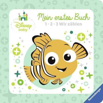 Disney Baby Mein erstes Buch Findet Nemo: 1 - 2 - 3 Wir zählen