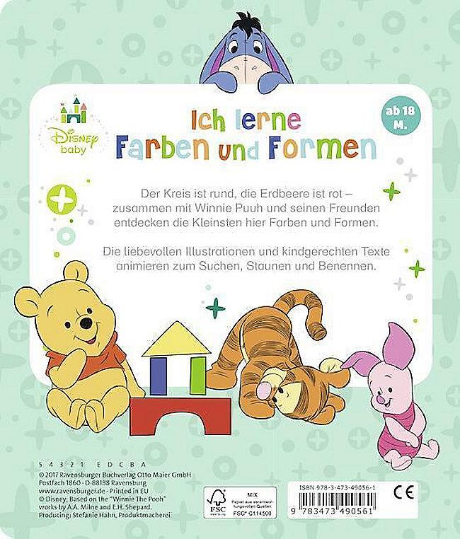 Disney Baby Winnie Puuh Ich Lerne Farben Und Formen Buch Kaufen