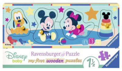 Disney Babys Holz-Konturpuzzle