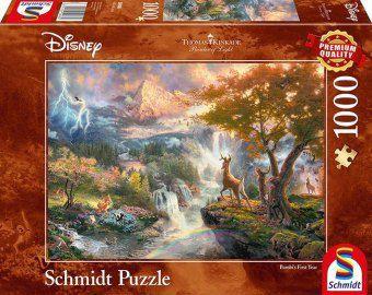 Disney Bambi (Puzzle), Thomas Kinkade