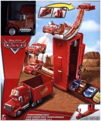 Disney Cars 3-in-1 Megasprung Mack