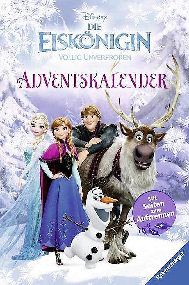 Disney Die Eiskönigin Adventskalender Buch Weltbildde
