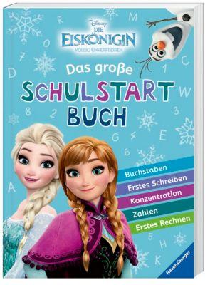 Disney Die Eiskönigin: Das große Schulstartbuch