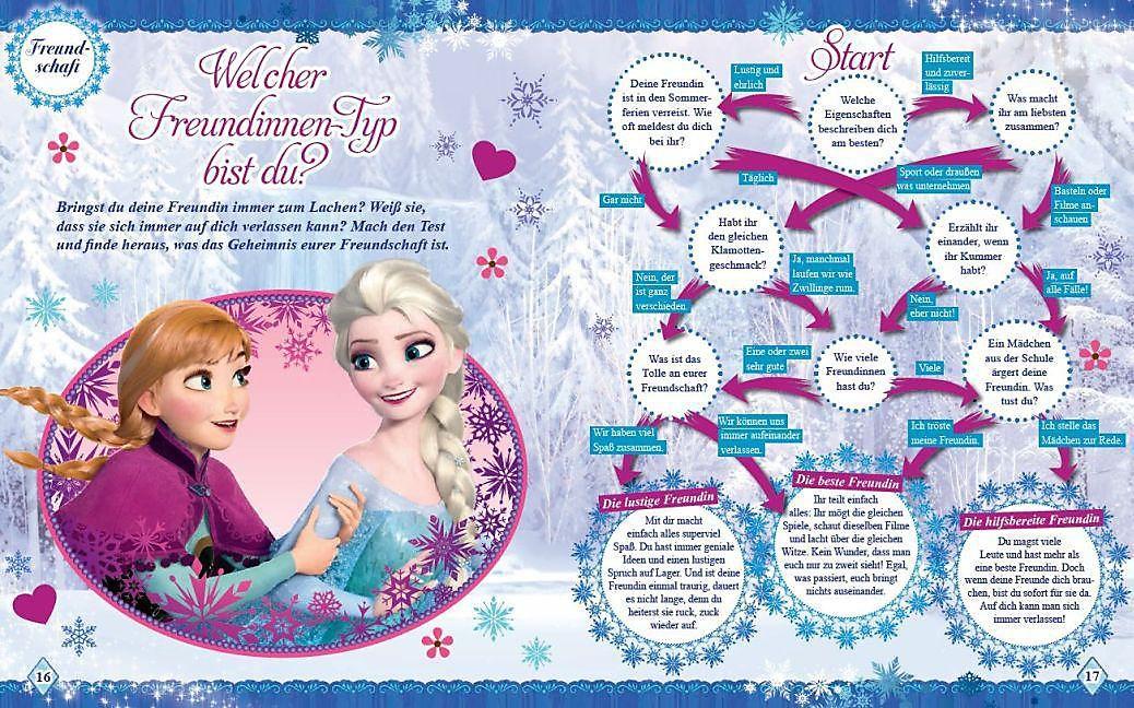 Disney Die Eiskonigin Mit Elsa Und Anna Durchs Schuljahr Buch
