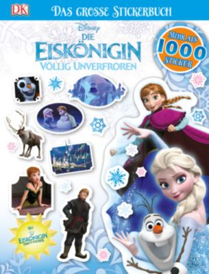 Disney Die Eiskönigin Völlig unverfroren - Das große Stickerbuch
